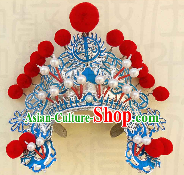 Traditional Chinese Classical Hua Dan Opera Hat for Women