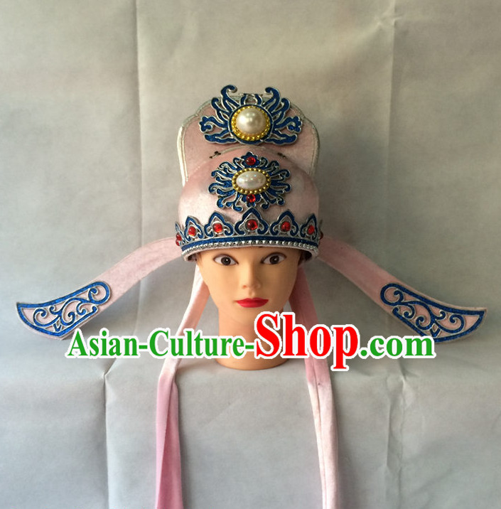 Traditional Chinese Classical Scholar Opera Hat for Men