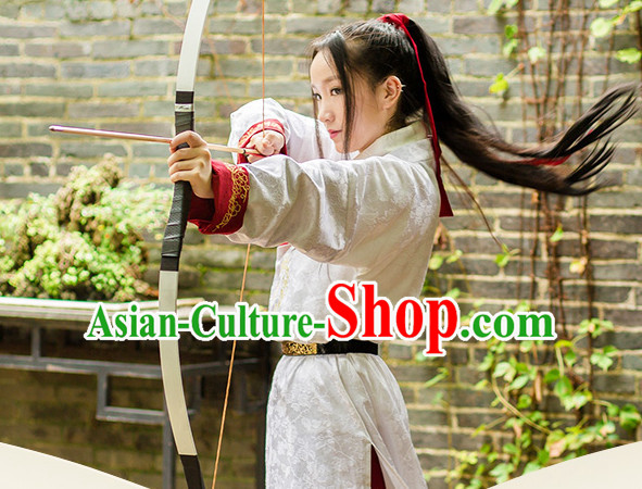 Chinese Ancient Archer Costume Clothing Hanfu Costume Han Fu Clothing for Sale