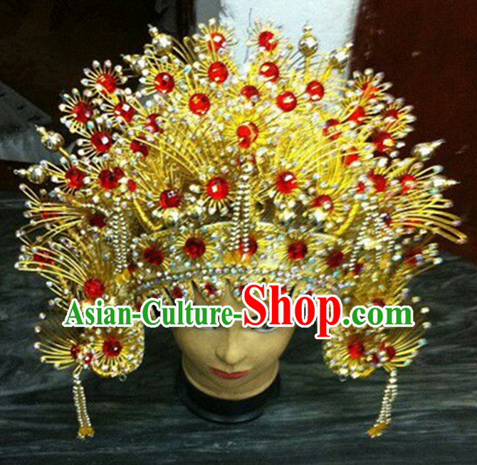 Ancient Chinese Phoenix Crown Coronet