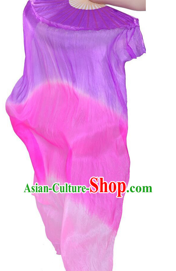 1.5 Meters Long Color Change Silk Dancing Streamers