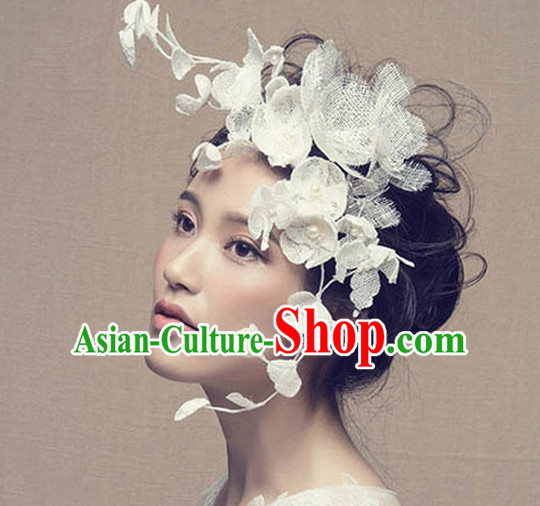 Chinese Wedding Bridal Hair Accessories Headwear Headdress Hair Accessory Hair Jewelry Set for Women or Girls