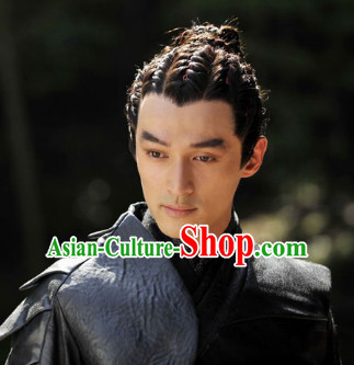 Chinese Ancient Male Black Wigs