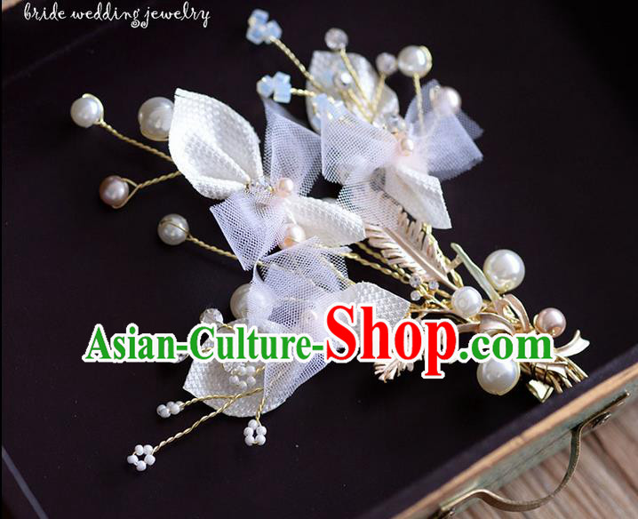 Traditional Jewelry Accessories, Princess Wedding Hair Accessories, Bride Wedding Hair Accessories, Headwear, Baroco Style Handmade Pearl Hair Claw for Women