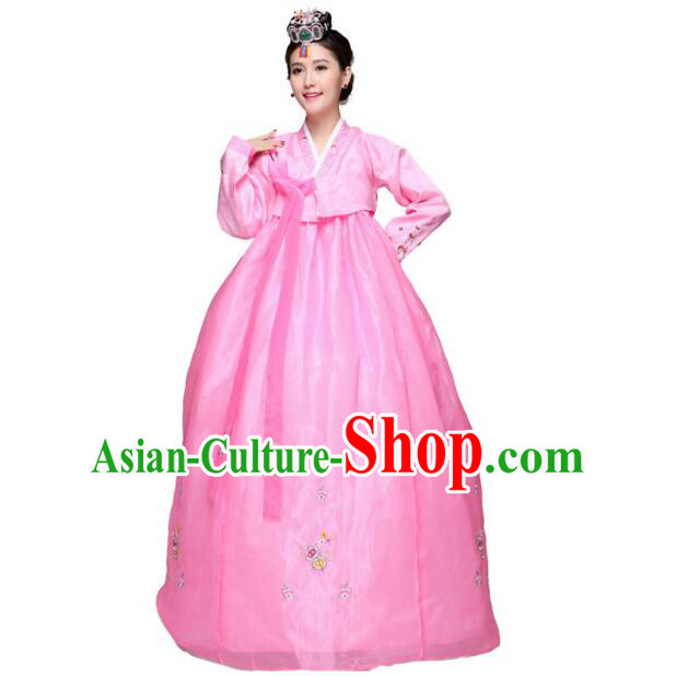 Korean Traditional Costumes Ancient Wedding Dress Korean Full Dress Formal Attire Ceremonial Dress Court Stage DancingClothes Dae Jang Geum