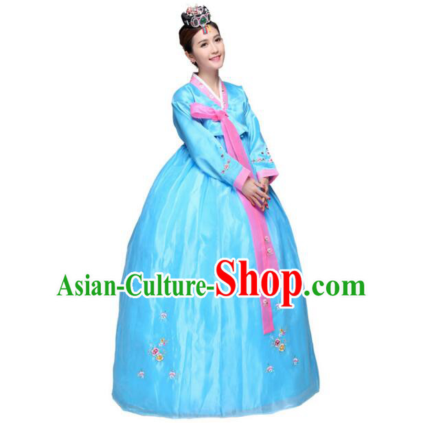 Korean Wedding Dress Traditional Costumes Ancient Clothes Full Dress Formal Attire Ceremonial Dress Court Stage Dancing Dae Jang Geum