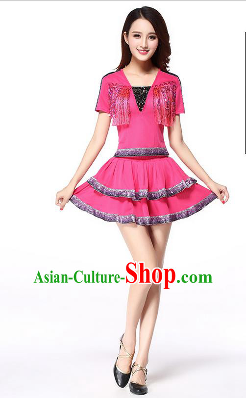High-quality Dancewear Costumes for Jazz and Ballet, Cheerleading Uniforms, Modern Dancing Cloth for Women