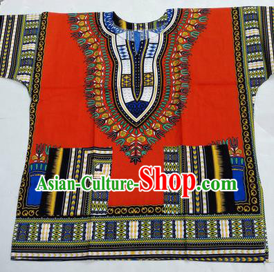 Traditional Asian Thai Palace Men Costume Color T-shirt, Thai Cotton Colorful Dress Shirt for Men