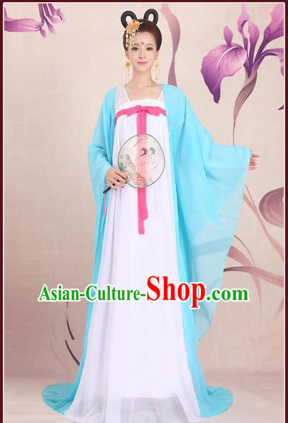 Ancient Chinese Palace Empress Costumes Complete Set, Hanfu, Tang Dynasty Ancient Palace Dress