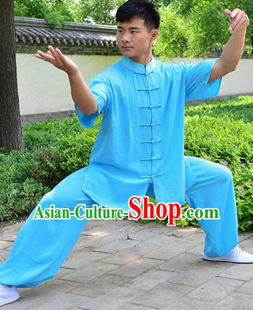 Top Kung Fu Silk Cotton Clothing Mandarin Costume Jacket Martial Arts Clothes Shaolin Uniform Kungfu Uniforms Supplies for Men Women Adults Children