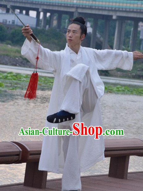 Top Tai Chi Uniforms Taoist Uniform for Men