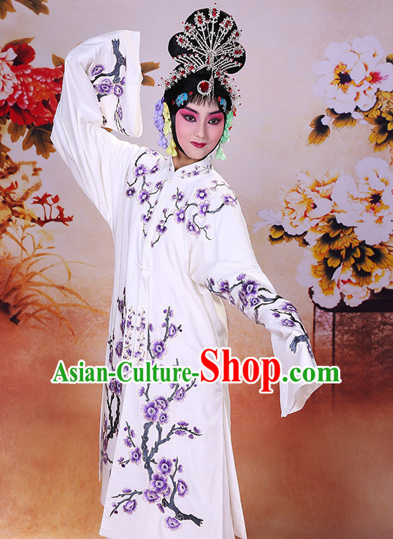Top Traditional Chinese Beijing Opera Embroidered Long Robe