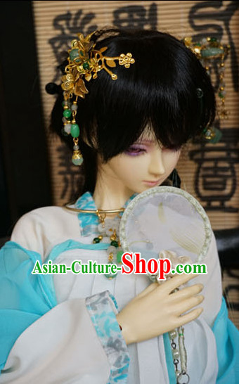 Ancient Chinese Style Handmade Hair Jewelry