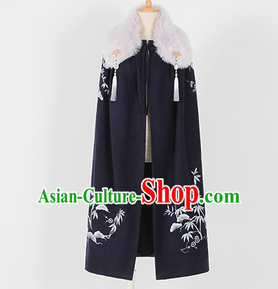 Ancient Chinese Mantle Cape for Women