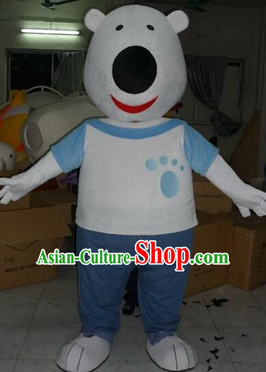 Professional Custom Mascot Uniforms Mascot Outfits Customized Animal Cartoon Character Bear Mascot Costumes