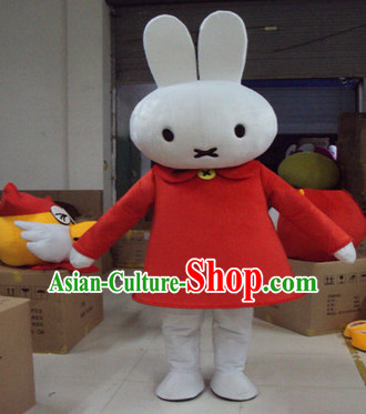Mascot Uniforms Mascot Outfits Customized Walking Mascot Costumes Cartoon Character Rabbit Mascots Costume