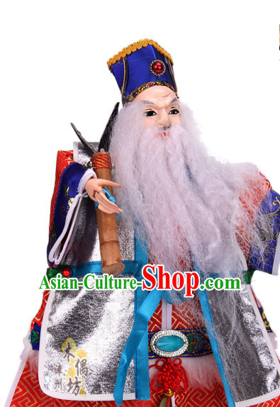 Traditional Chinese Handmade Immortal Glove Puppet String Puppet Hand Puppets Hand Marionette Puppet Arts
