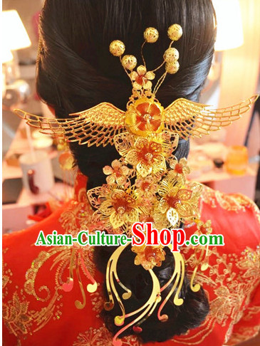 Top Chinese Classic Wedding Phoenix Jewelry for Brides