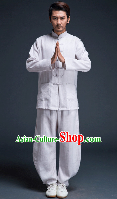 Top Kung Fu Competition Suits Kung Fu Gi Tai Chi Apparel Oriental Dress Wing Chun Apparel Taiji Uniform Outfit for Men Women Children Adults