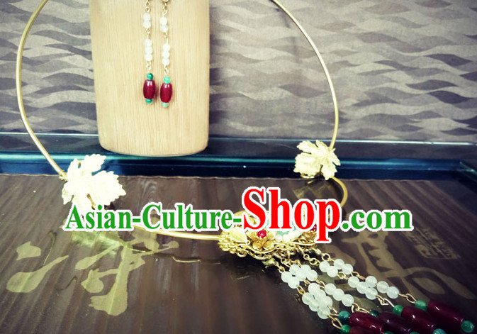 Ancient Chinese Handmade Empress Princess Queen Necklace