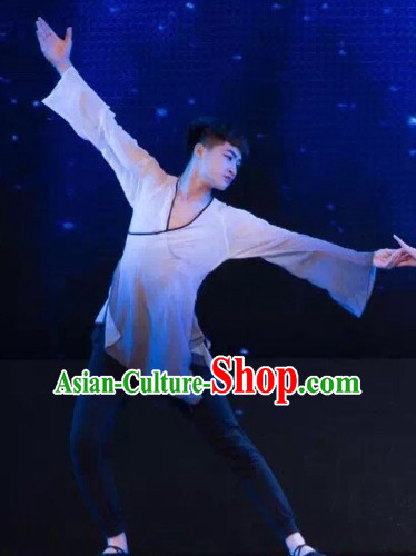 Color Changing Chinese Classical Dance Costumes for Men or Women Adults or Kids