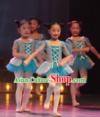 Chinese Classical Folk Dance Costumes for Kids