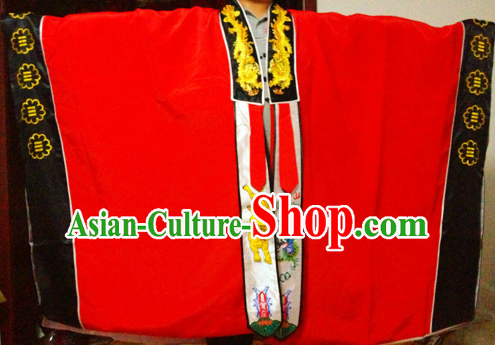 Chinese Cerermonial Taoist Robe for Men Women Adults Kids Children