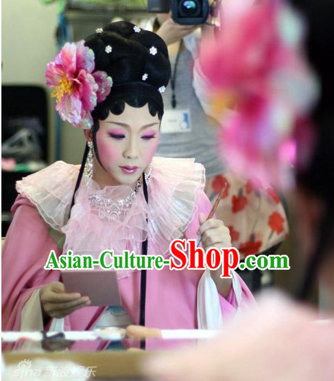 Traditional Chinese Empress Wigs and Hair Jewelry