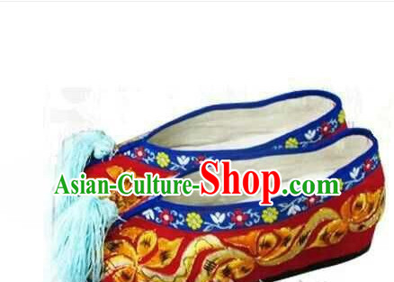 Handmade Ancient Traditional Chinese Handmade Embroidered Shoes China Shoes