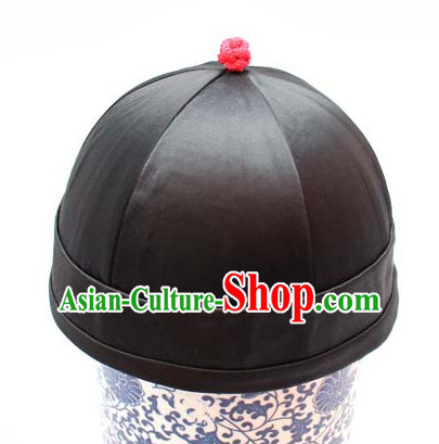 Top Handmade Classical Black Traditional Hat for Men or Boys