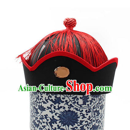 Top Handmade Classical Black Traditional Hat for Men