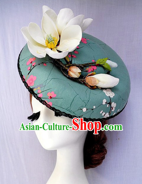 Handmade Flower Hat Headpieces for Girls and Women