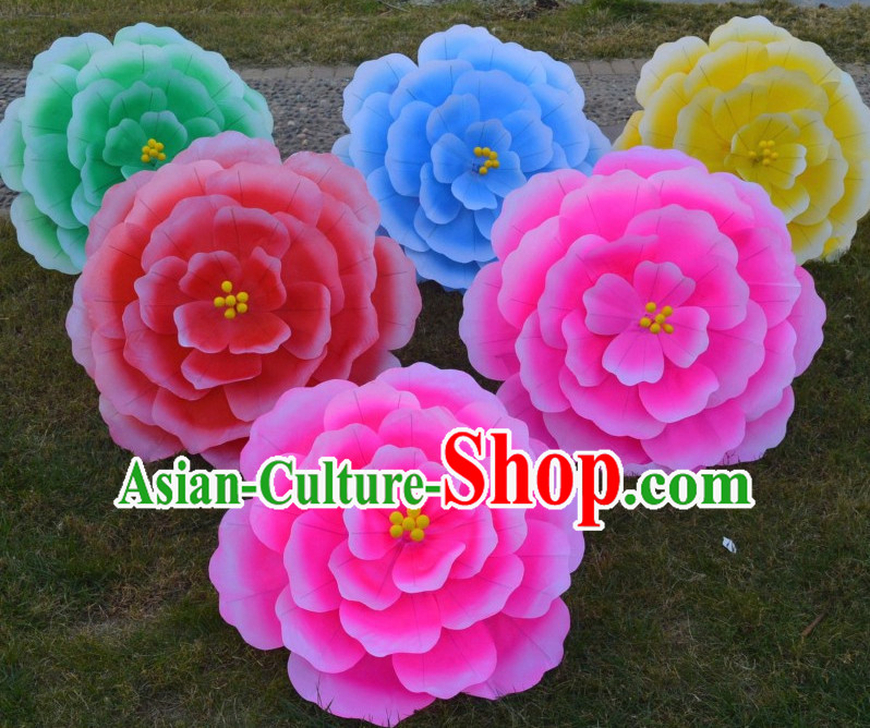 Classical Handmade Flower Umbrella Dance Props