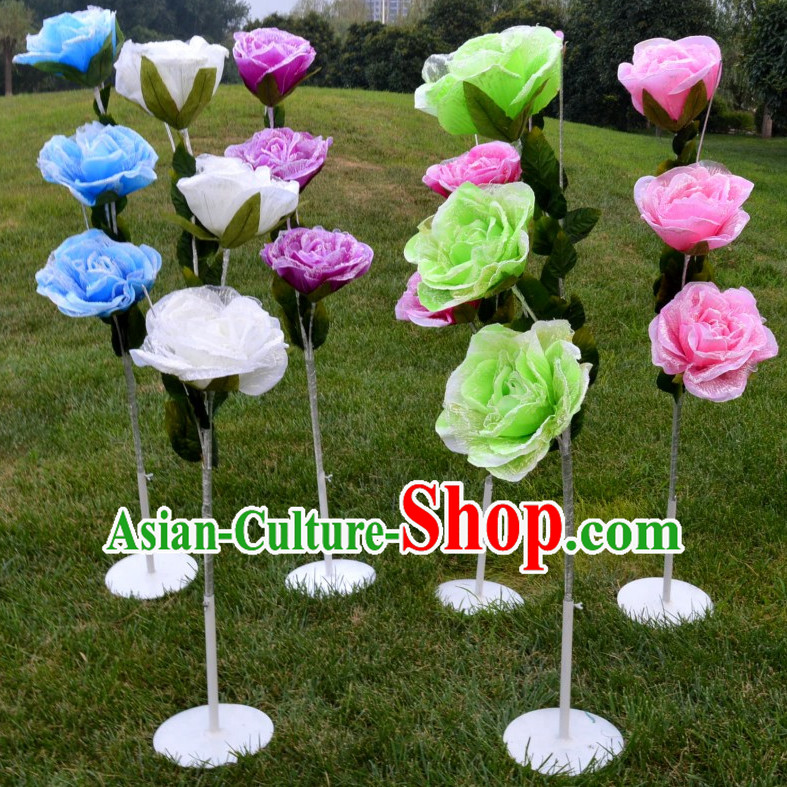 1.4 Meter High Peony Flower Decoration Props Dance Prop