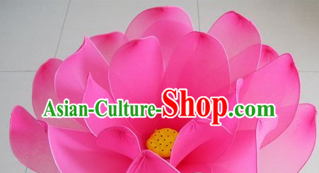 0.6 Meter Big Lotus Dance Props Props for Dance Dancing Props for Sale for Kids Dance Stage Props Dance Cane Props Umbrella Children Adults