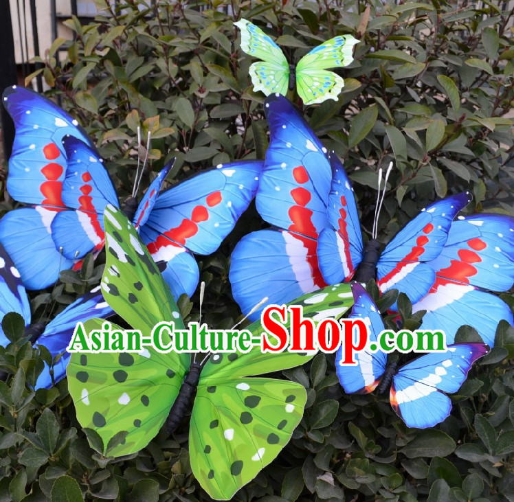 0.5 Meter Big Butterfly Dance Props Props for Dance Dancing Props for Sale for Kids Dance Stage Props Dance Cane Props Umbrella Children Adults