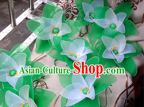 Wrist Flower Decorations Fan Dance Props Props for Dance Dancing Props for Sale for Kids Dance Stage Props Dance Cane Props Umbrella Children Adults