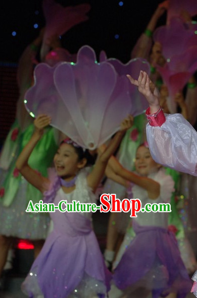 0.4 Meter Flower Dance Props Props for Dance Dancing Props for Sale for Kids Dance Stage Props Dance Cane Props Umbrella Children Adults