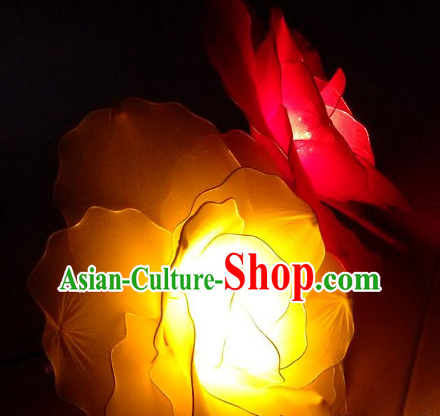 Handmade Luminous Glowing Flower Dance Props Props for Dance Dancing Props for Sale for Kids Dance Stage Props Dance Cane Props Umbrella Children Adults