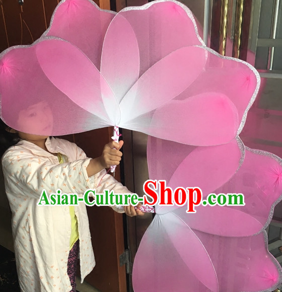 Big Pink Petal Stage Performance Dance Props
