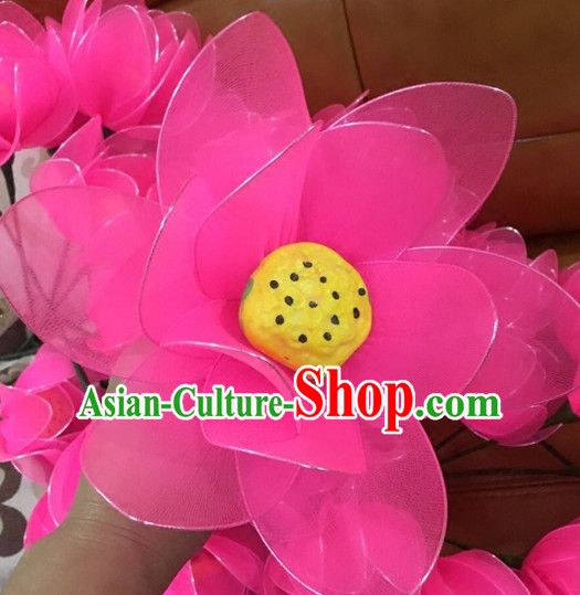 Beautiful Handmade Lotus Stage Performance Dance Props Dancing Prop Decorations