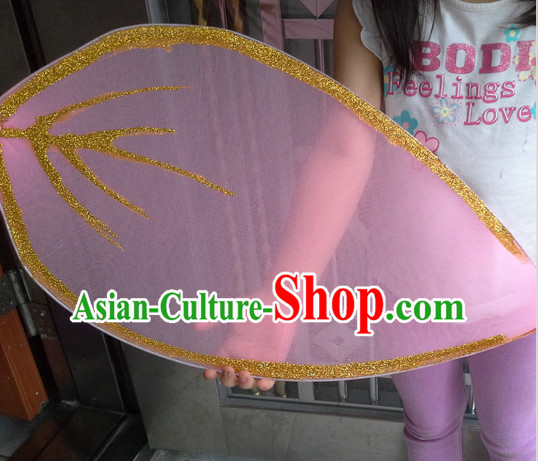 Big Handmade Leaf Stage Performance Dance Props Dancing Prop Decorations