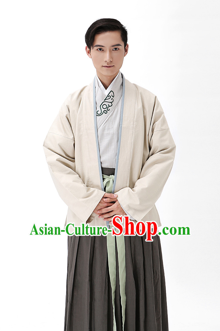 Traditional Hanfu Clothing Dress Buy Male Costume Robe Kimono Dress Complete Set for Men
