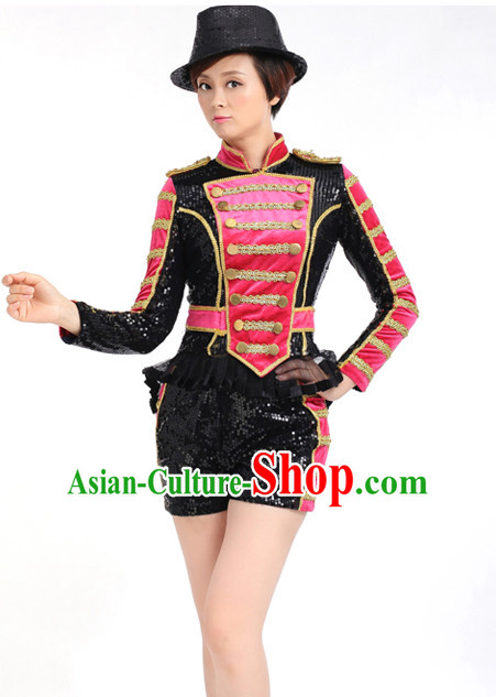 Chinese Competition Stage Modern Dance Costumes Female Dance Costumes Folk Dances Ethnic Dance Fan Dance Dancing Dancewear for Women