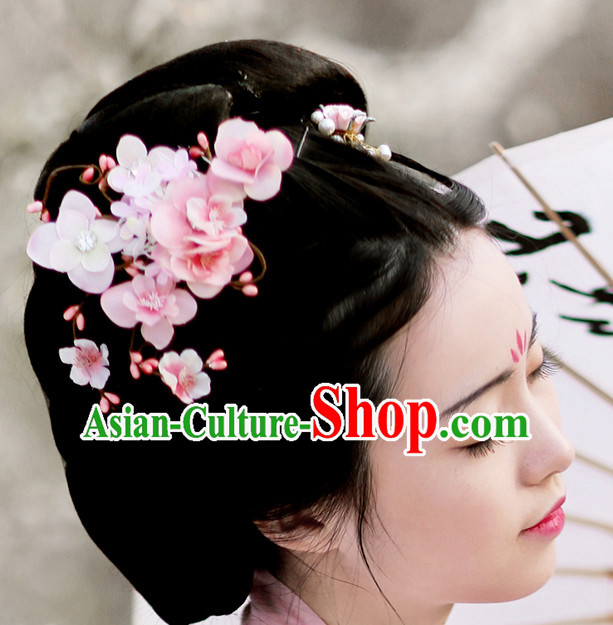 Ancient Chinese Handmade Hair Accessories Headdress Hair Jewelry