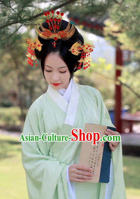Ancient Chinese Handmade Phoenix Hair Accessories Headdress Hair Jewelry