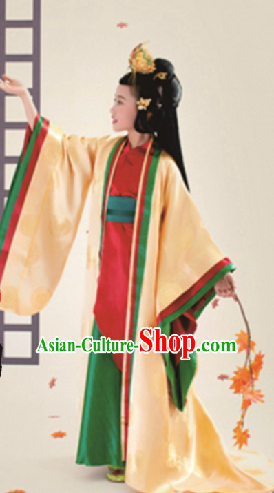 Ancient Chinese Clothing for Children Kids