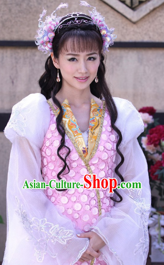 Ancient Chinese Fairy Beauty Hair Jewelry Hairpieces