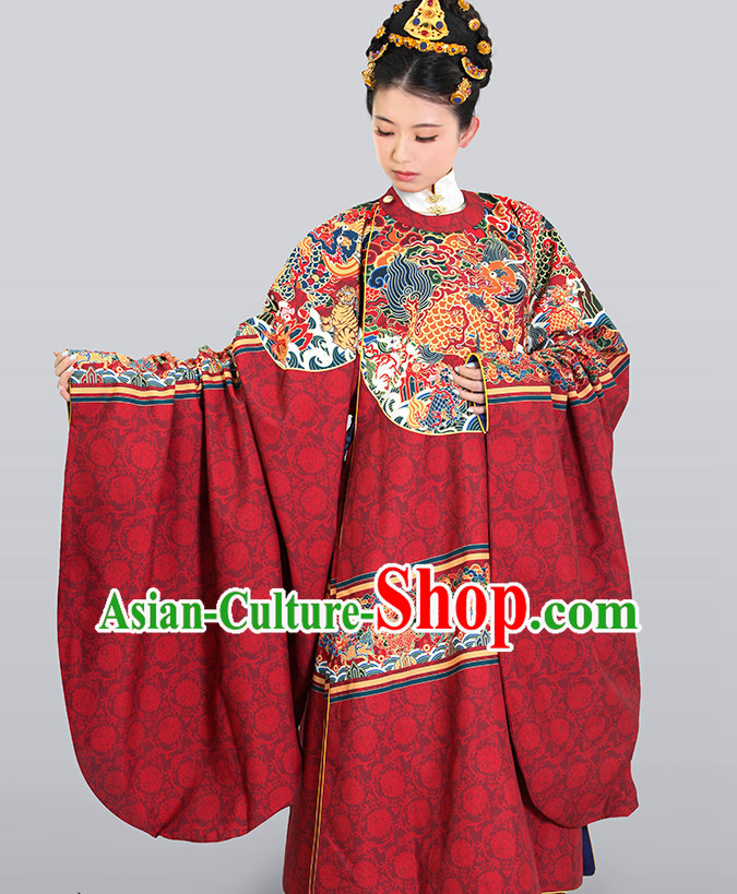 Ancient Chinese Ming Dynasty Princess Royal Imperial Clothing for Women