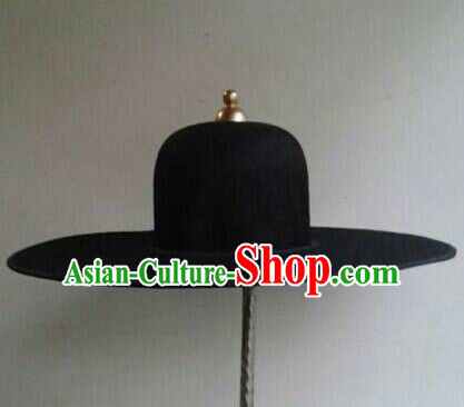 Ancient Asian Chinese Headdress Oriental Headwear Official Swordsman Hat for Men Boys